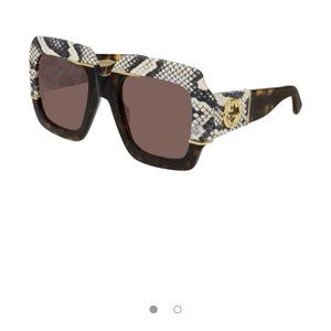 New Gucci Snakeskin Sunnies